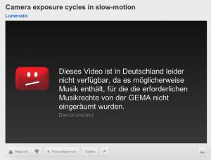 GEMA-censorship